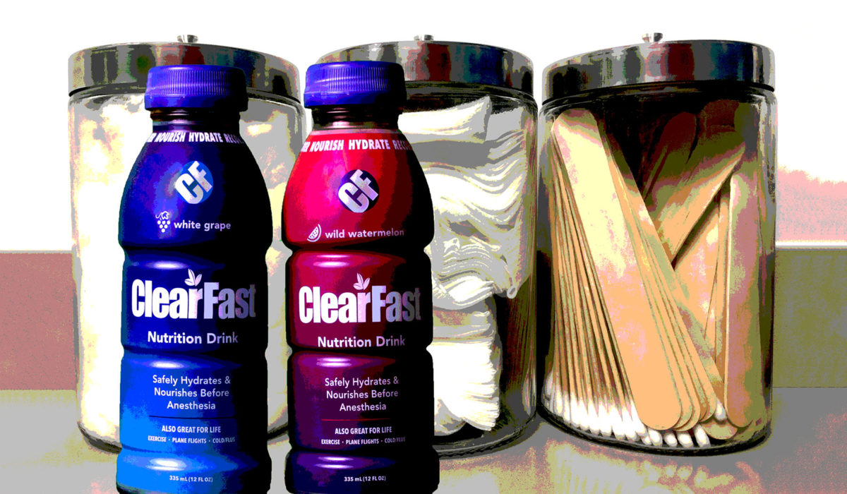 clearfast enhanced recovery drink