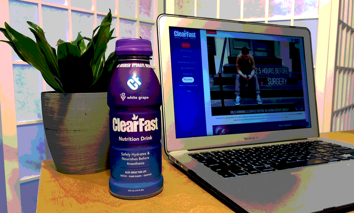 clearfast pre surgery carbohydrate drink