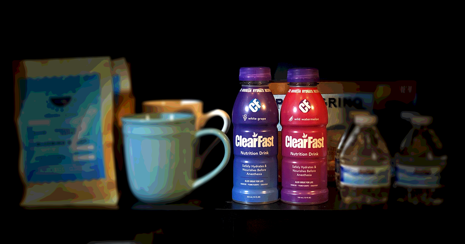 uses for carbohydrate drinks clearfast